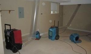 Water Damage Remediation In Finished Basement