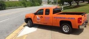 Mold Cleanup and Water Damage Restoration Vehicles